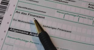 Steuererklaerung 310x165 - Steuererklärung - diese Versicherungen lassen sich absetzen